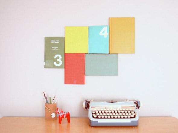 Ideias de decoração com livros velhos 009