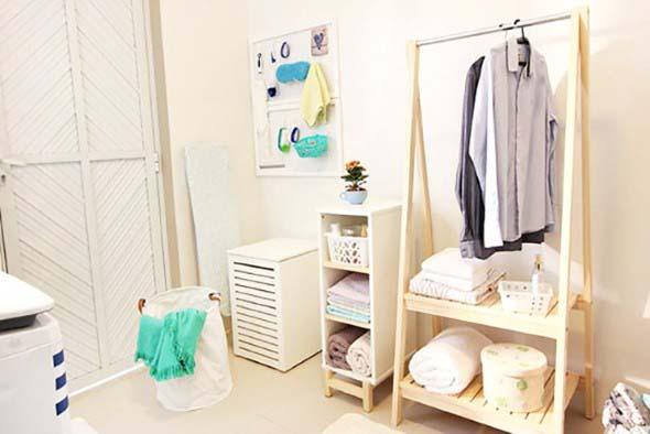 Organizar roupas na lavanderia 009