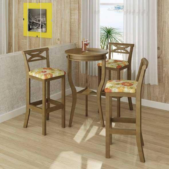 Use mesas bistrô na decoração de casa 003
