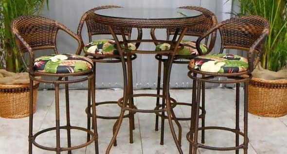 Use mesas bistrô na decoração de casa 018