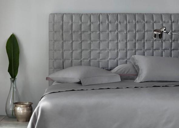 Cabeceira de cama estofada 002