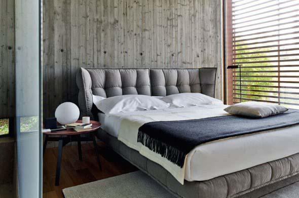 Cabeceira de cama estofada 004