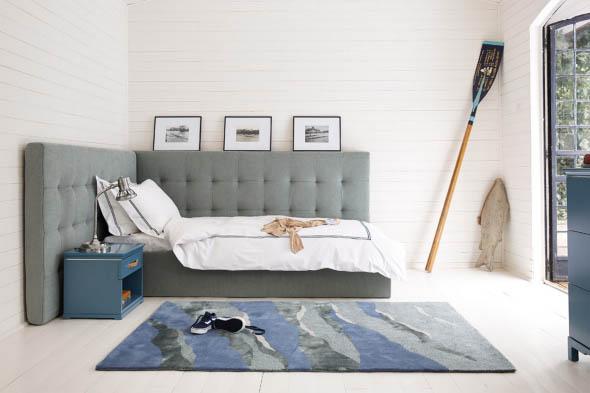Cabeceira de cama estofada 005