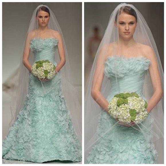 vestido noiva colorido 10