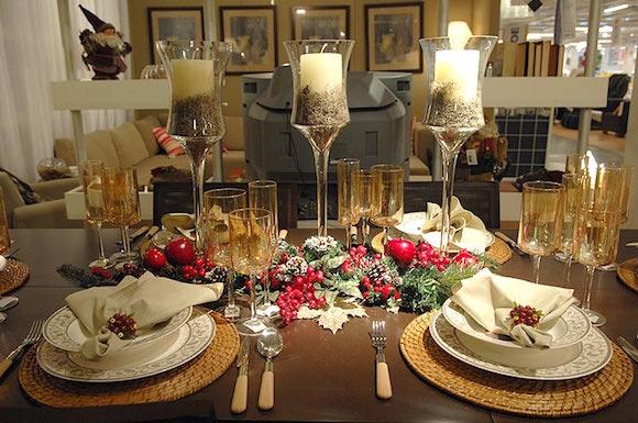 enfeite mesa natal 2
