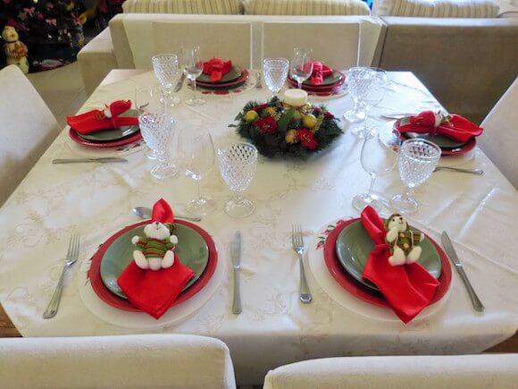 enfeite mesa natal 6